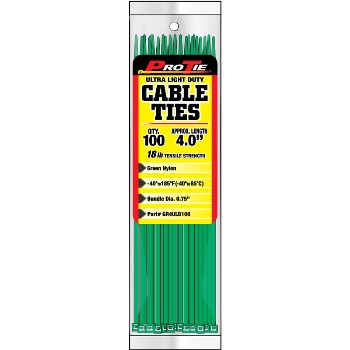 Cable Ties 4 Inch 100 Pack