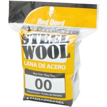 Steel Wool  8 Pad #00
