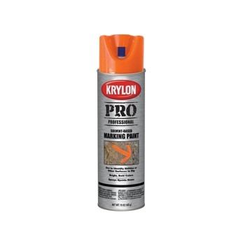 Krylon 7306 Marking Paint, Bright Orange ~ 15oz Cans