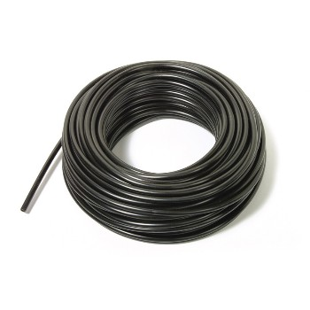 "PPS Pkg 83013  Black Poly Tubing ~ 1/4"" x 1000"