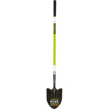 "Safety Round Point Shovel ~ 48"" Handle"