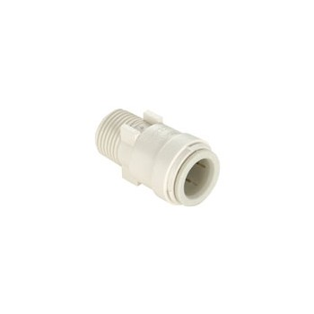 "Quick Connect Male Connector, Poly ~ .5"" CTS x .5"" MPT"