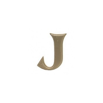 House Letter J,   Simulated Wood-Grain Letter ~ 7""