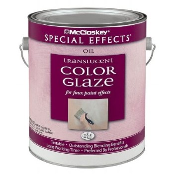 McCloskey Special Effects Glaze Coat, Clear ~ Gallon