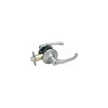 Hardware House/Locks 423988 Privacy Lever Lock, Greystone