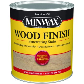 Wood Finish ~ Pickled Oak,  Gallon