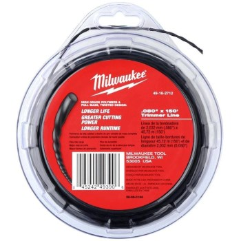 "String Trimmer Line,  .0800"" ~  150 Ft Spool"