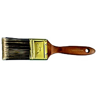 Polyester Flat Sash Brush ~ 1.5""