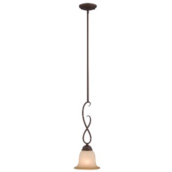 Hardware House  100977 Pendant Ceiling Fixture, Bennington - Antique Bronze