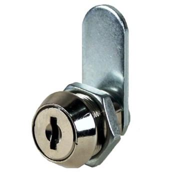 """CCL Security   K15760 00222 Disc Tumbler Cam Lock, Satin Chrome Finish ~ 1 1/4"""""""