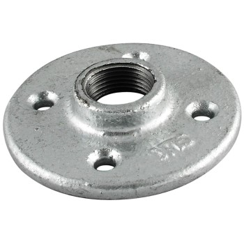 Malleable Galvanized Floor Flange ~ 1 1/2""