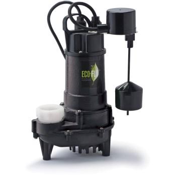 Eco-Flo Products Inc ECD75V 3/4 Hp Ci Sump Pump