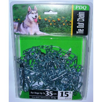Boss Pet 53015 1.8mmx15ft. Pdq Dog Chain