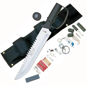 Bushmaster Survival Knife With Sheath