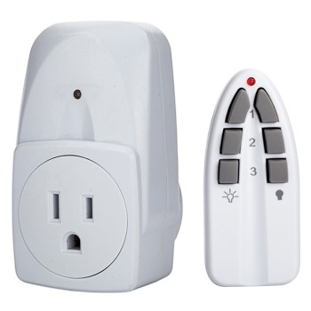 Outlet Remote Control and Outlet