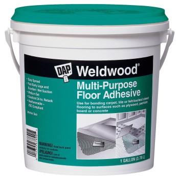 DAP 00142 Multipurpose Floor Adhesive, Off White ~ Gallon