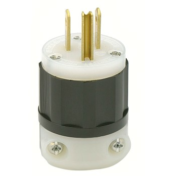 Grounded Nylon Plug ~ 15A 125V