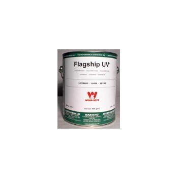 Wood Kote  375-5 Flagship Marine Finish Polyurethane,  Satin ~ Gallon