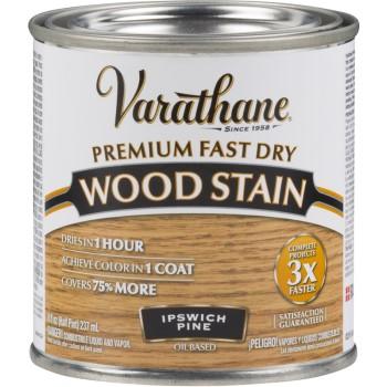 Rust-Oleum 262031 Interior Wood Stain, Ipswich Pine ~ Half Pint