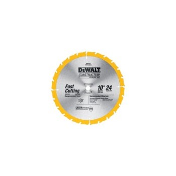 DeWalt DW3112 Thin Kerf Blade, 10 inch, 24 teeth