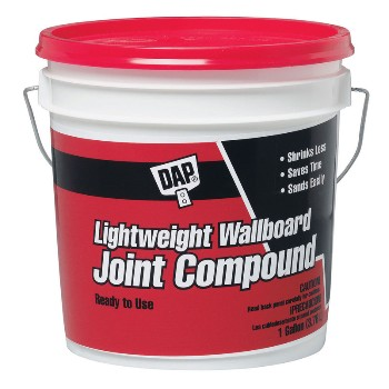Lightweight Joint Compound - 1 gallon ~ White