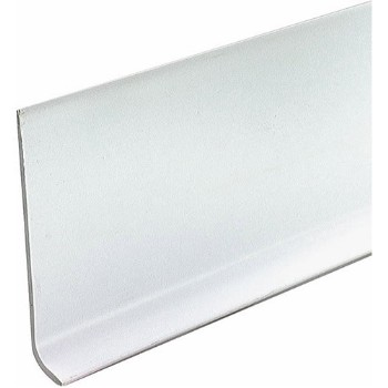 "Cove Base - Vinyl - White - 2.5"" x 48"""