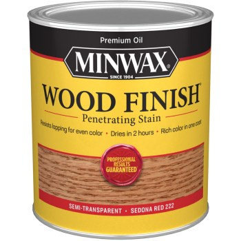 Wood Finish ~ Sedona Red, Quart