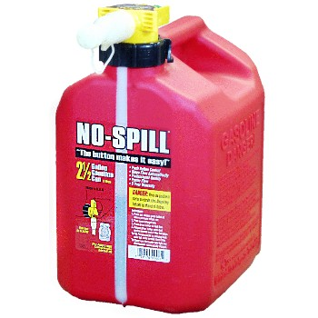 No-Spill 1405 Gas Fuel Can, No Spill ~ 2.5 gallon