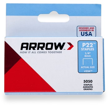 Arrow Staples, ~ .25 inch