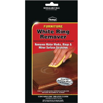 Homax  White Ring Remover & Scratch Repair Cloth