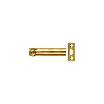 SolidBrass /Pb Surface Bolt, Visual Pack 1922 3 inches
