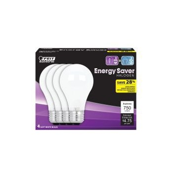 A19 Energy Saver White
