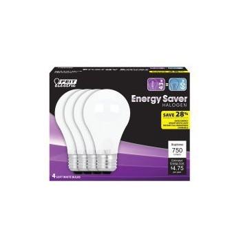 Feit Electric  Q43A/W/4/RP A19 Energy Saver White