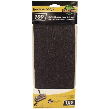 Hook & Loop Drywall Sandpaper Sheets ~ 100 Grit