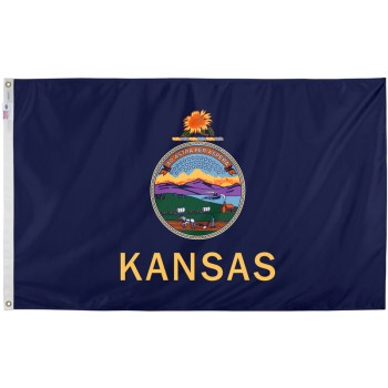 3ft. X5ft. Kansas Flag