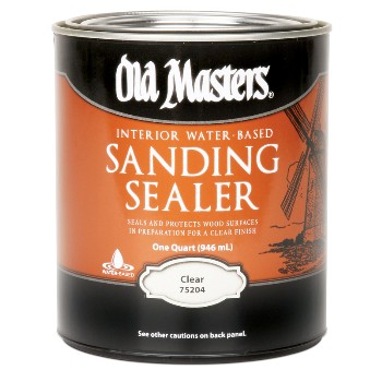 Old Masters  Sanding Sealer, Water-Based Clear ~ Quart