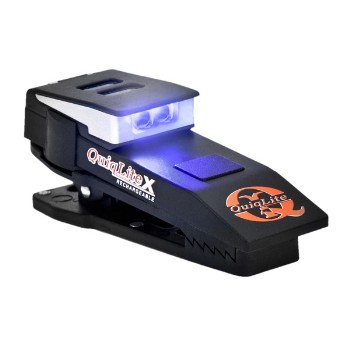 Quiqlite-X, Rechargeable, Blue/White LED
