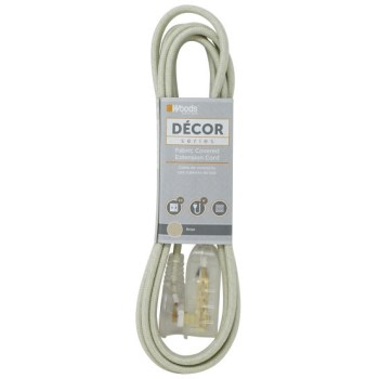 Coleman Cable 64598301 Beige Fab Tap Cord