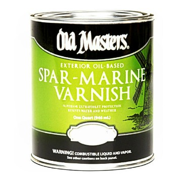 Spar Marine Varnish ~ Satin Finish,  Gallon