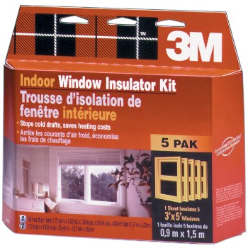 3M 05113150024 Window Insulator Kit - Indoors - 62 x 210 inch