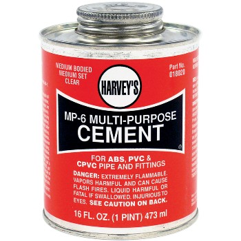 Multi Purpose Cement, MP-6  ~ 16 Ounce