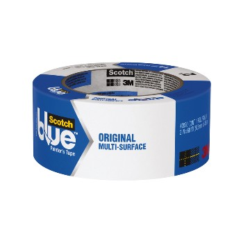 "3M 051115036835 Blue Painters Tape, 2"" x 60 yards"