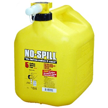 No-Spill 1457 Diesel Fuel Can, No Spill  ~  5 gallon