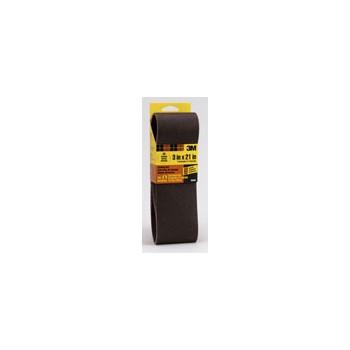 3M 051131921597 Sanding Belt - 80 Grit - 3 x 21 inch
