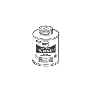 Harveys 018430-12 Wet Set PVC Cement, Blue 1 Quart