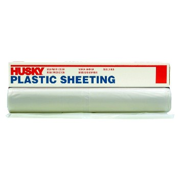 Poly Plastic Sheeting,  Clear ~ 12' x 200' x  1.5 Mil
