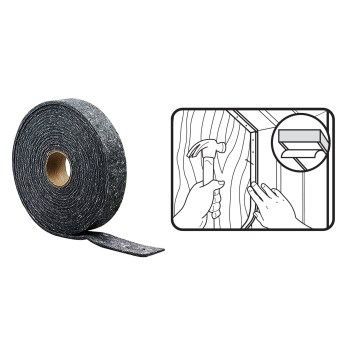 White Thermablend 43846 Weather Seal Stripping Tape 17/'