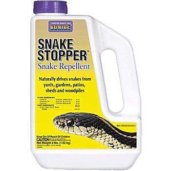 Bonide 875 Snake Stopper Repellent ~ 4 lbs.