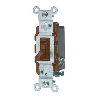 Three-Way Quiet Switch ~ Brown