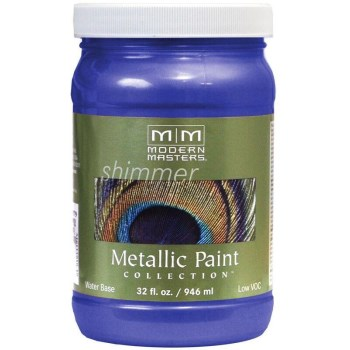 Metallic Paint, Venetian Blue 32 Ounce